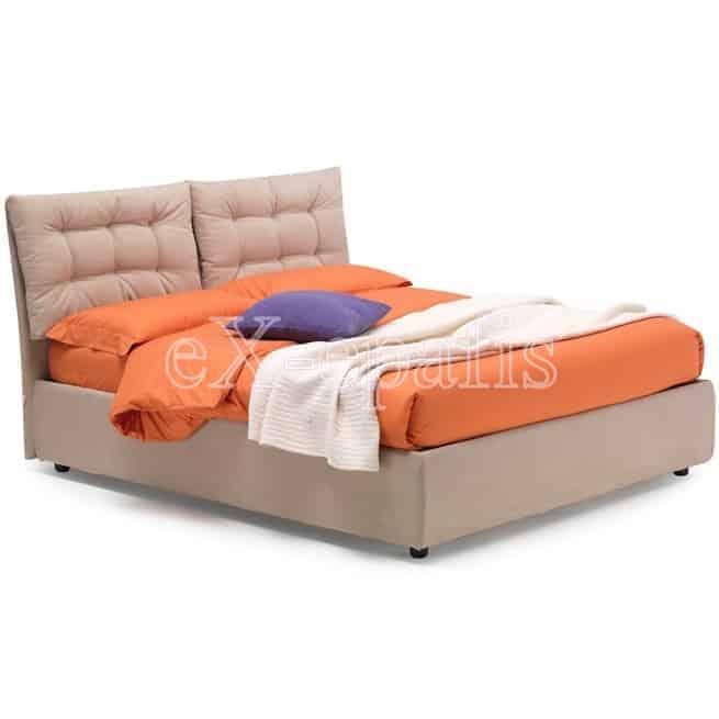 Κρεβάτι Vera X Eco Italy Επενδυμένο & Μπαούλο