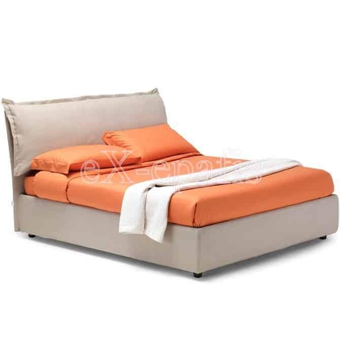 Κρεβάτι Vera V Eco Italy Επενδυμένο & Μπαούλο