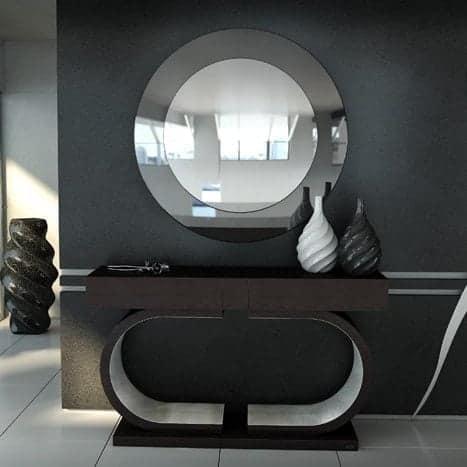 Κονσόλα με Καθρέπτη Argento Proteas